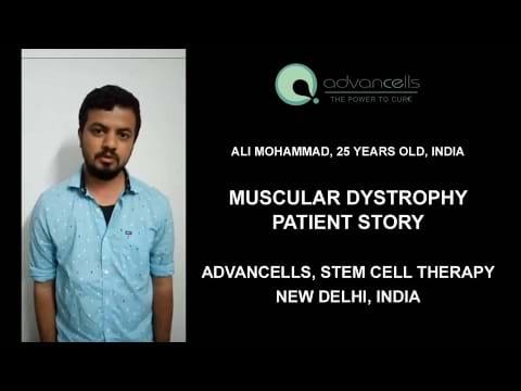 Muscular Dystrophy Patient Testimonial
