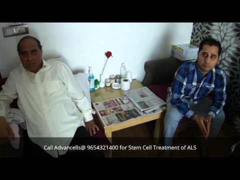 Treatment for Amyotrophic Lateral Sclerosis (ALS) Patient