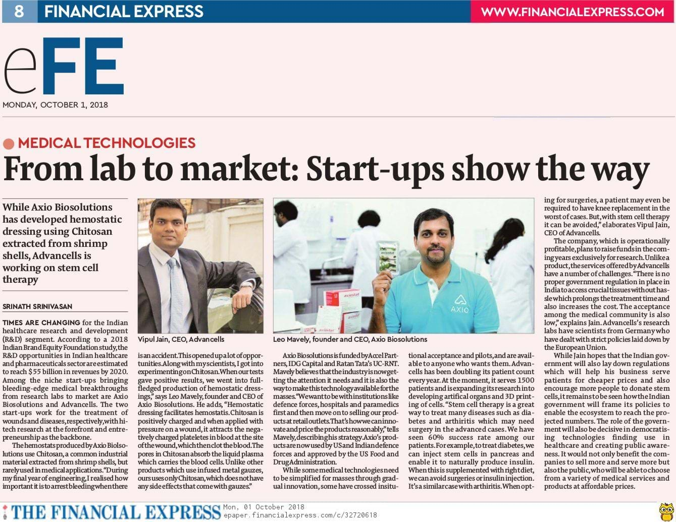 From lab to market – how startups are changing the game