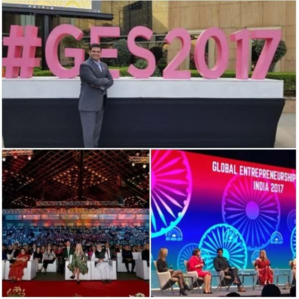 Our Founder Vipul Jain invited to Global entrepreneurship Summit 2017