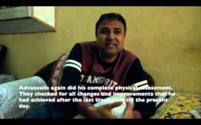 Archit Dev- Autism Patient Treatment Video at Advancells India