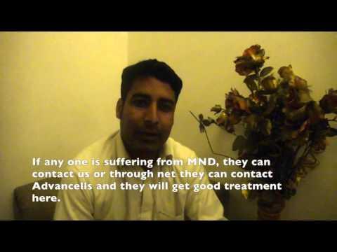 Rafiq Ahmad, ALS patient treatment video