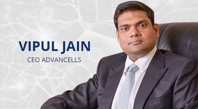 Vipul Jain CEO Advancells