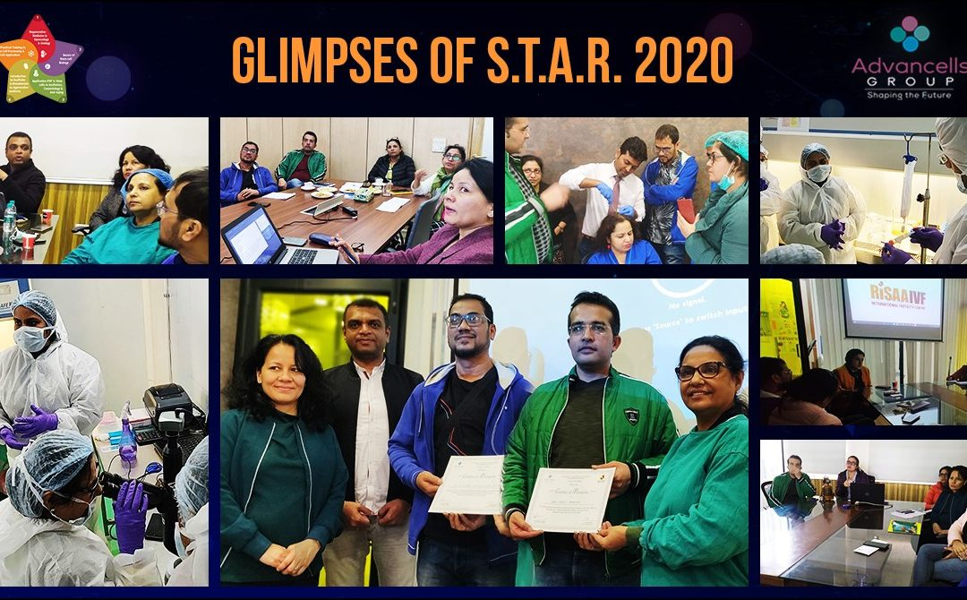 Glimpses of star 2020