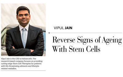 Reverse signs of aging with stem cells