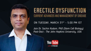 Erectile Dysfunction: current advances and management of disease